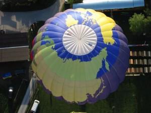 Ersetzten eines Parachutes