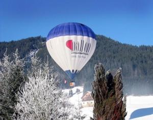 Ballonfahren mit dem OE-ZBS-1