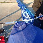 Jahreskontrolle Heißluftballon: Der Grab-Test